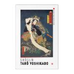 ukiyoe - Shōgun Tarō yoshikado - Japanese magician Acrylic Print