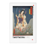 ukiyoe - Takiyasha hime - Japanese magician - Acrylic Print