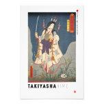 ukiyoe - Takiyasha hime - Japanese magician - Photo Print