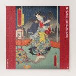 ukiyoe - tengukozō Kiritarō - Japanese magician - Jigsaw Puzzle