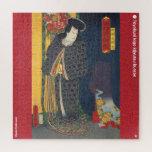 ukiyoe - Yōzoku Orochi maru - Japanese magician - Jigsaw Puzzle