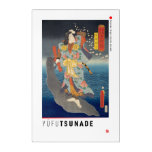 ukiyoe - Yūfu Tsunade - Japanese magician - Acrylic Print