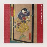ukiyoe - Yuri Yūsetsu - Japanese magician - Jigsaw Puzzle
