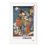 ukiyoe - Zokushu Jiraiya - Japanese magician - Acrylic Print