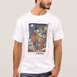 ukiyoe - Zokushu Jiraiya - Japanese magician - T-Shirt