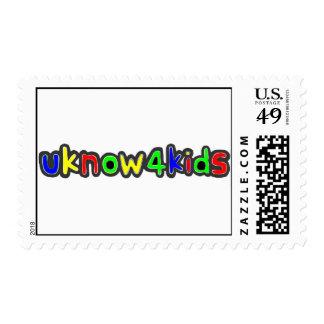 UKnow4Kid Postage Stamps
