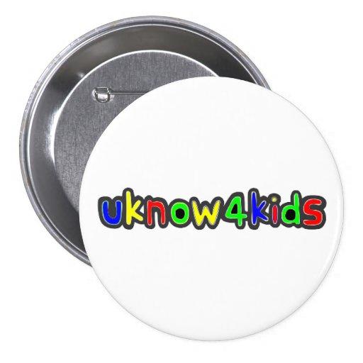 UKnow4Kids Pin