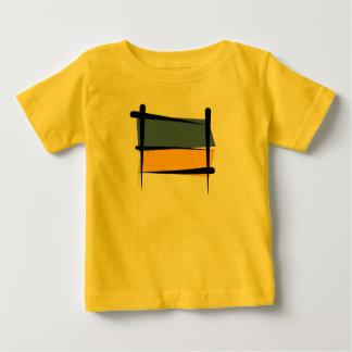Ukraine Brush Flag Baby T-Shirt