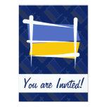 Ukraine Brush Flag Cards