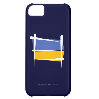 Ukraine Brush Flag iPhone 5C Case