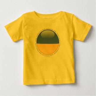 Ukraine Bubble Flag Baby T-Shirt