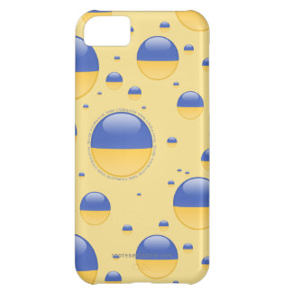 Ukraine Bubble Flag Cover For iPhone 5C