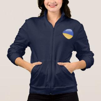 Ukraine Bubble Flag Jacket