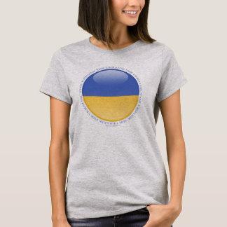 Ukraine Bubble Flag T-Shirt
