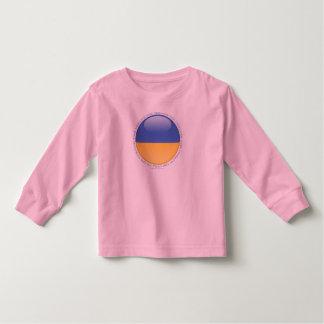 Ukraine Bubble Flag Toddler T-shirt