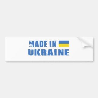 UKRAINE CAR BUMPER STICKER