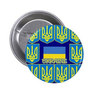 Ukraine 2 Inch Round Button