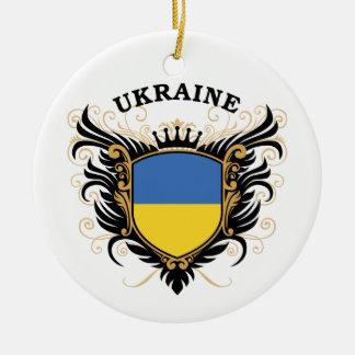 Ukraine Christmas Tree Ornament