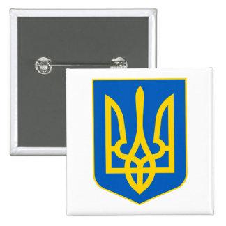 Ukraine COA 2 Inch Square Button