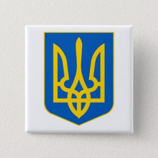 Ukraine COA Pinback Button