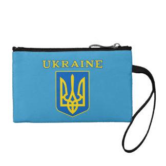Ukraine coat of arms coin purse