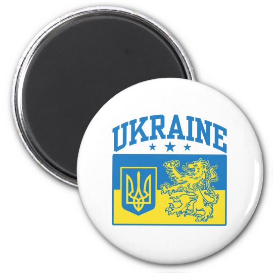 Ukraine Coat of Arms Magnet