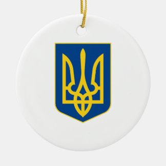 Ukraine Coat of Arms Ornament