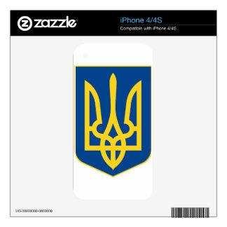 Ukraine Coat of Arms iPhone 4S Decal