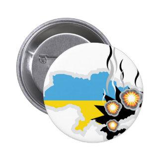Ukraine conflict vector button