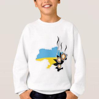Ukraine conflict vector sweatshirt