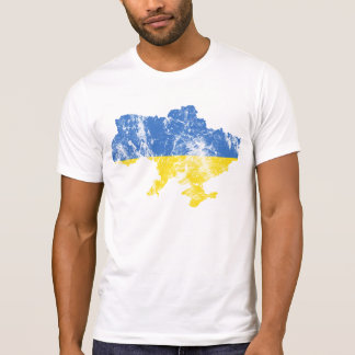 Ukraine Distressed shirt