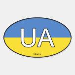 Ukraine Euro Sticker
