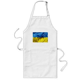 Ukraine Flag Long Apron