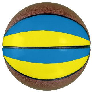 Ukraine Flag Basketball