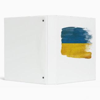 Ukraine Flag Binder