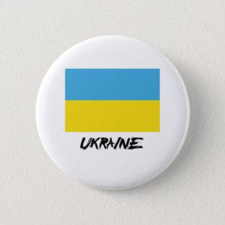 Ukraine Flag Button