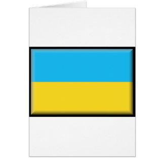 Ukraine Flag Greeting Card