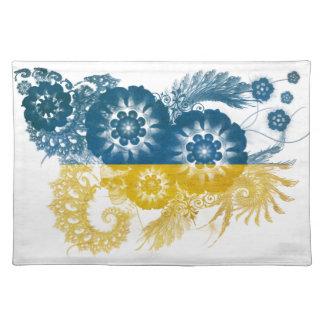 Ukraine Flag Cloth Placemat