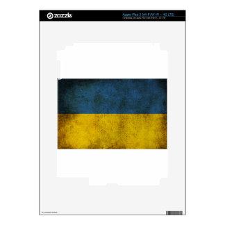 Ukraine Flag iPad 3 Skins