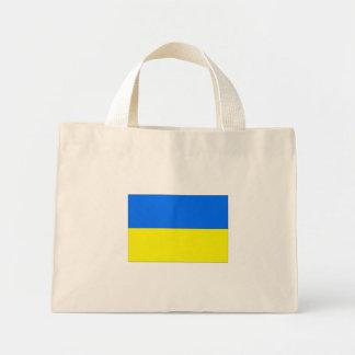 Ukraine flag mini tote bag