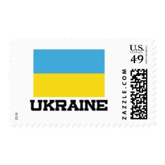Ukraine Flag Postage