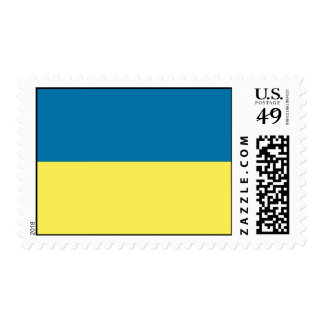 Ukraine Flag Postage Stamp
