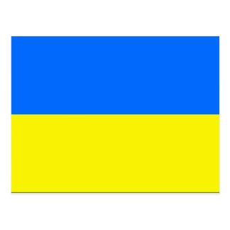 Ukraine Flag Postcard