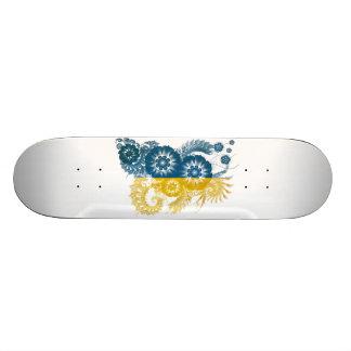 Ukraine Flag Skate Deck