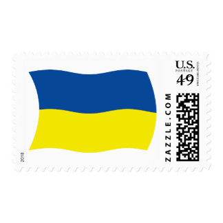 Ukraine Flag Stamps