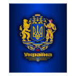 Ukraine Full Arms Poster