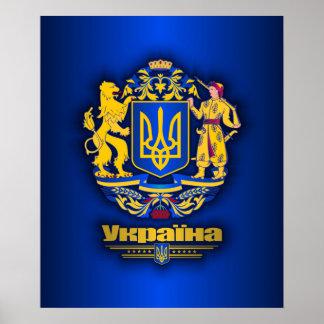 Ukraine Full Arms Print