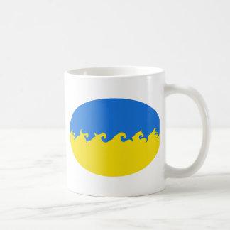 Ukraine Gnarly Flag Mug