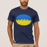 Ukraine Gnarly Flag T-Shirt
