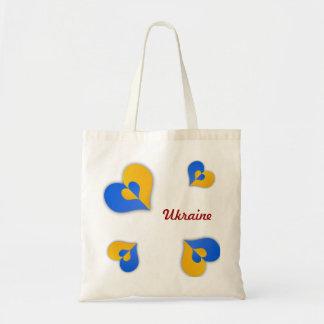 Ukraine Hearts Bag